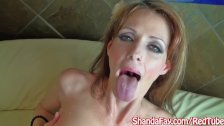 Canadian Milf Shanda Fay Gives BJ for Facial!