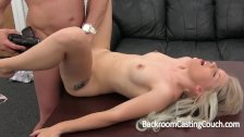 Incredible Blonde Amateur Fucked and Creampie