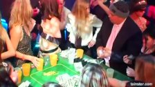 Bitches take dicks at casino party