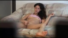 Horny young girl hidden camera