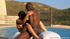 Ebony Couple From Exotic Africa