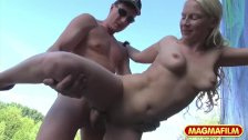 MAGMA FILM Banging a German Teen in the park