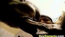 Horny Ghetto Gay Lovers Anal Fucking Scene