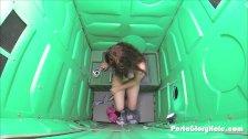 Porta Gloryhole 18 yr old swallows cum