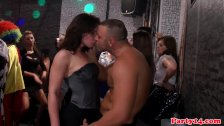 Euro amateur party with babes fucked after bj