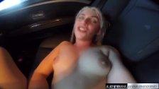 Teen Niki Snow fucks uber driver big cock