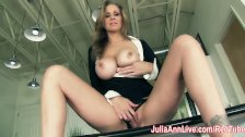 Julia Ann Tells You To Pull Out Your Cock!