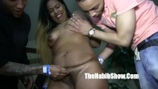 dominican threesome leona banks fucked by dom