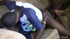 Black Africans Bareback Sex Orgy
