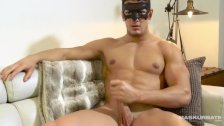 Maskurbate Masked Hunk Reveals Beautiful Cock
