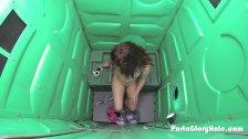 Porta Gloryhole Hot young teen gets naughty a