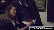 TEENFIDELITY - Schoolgirl Creampied Deep