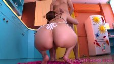 Nippon milf fingered then doggystyled