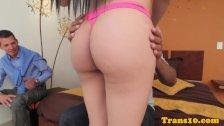 Latina tranny spitroasting petite spex tgirl