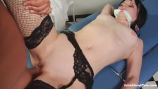 Attractive chick lets the boyfriend bang her