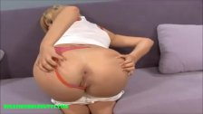 bubble butt pounded and cum on ass