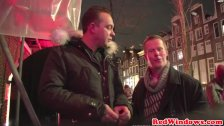 Dutch hooker facesitting and jerking