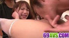 Harsh pleasures for Ayaka Fujikita in nasty