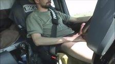 Smoke Drive And Wank Big Cock