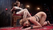 Chanel Preston's Squirting Lesbian Sex Slave