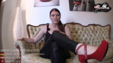 Stop and Go High Heels Wichsanleitung - German JOI