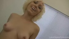Imposing girlfriend provides her man with a tugjob