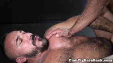 Mature dilf bear barebacked by pierced top