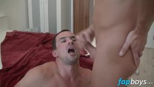 Horny Andy gets his ass drilled by Lucky