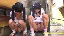 Petite Jav Teen Schoolgirls Rina And Asami