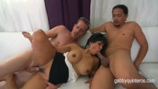 Gabby Quinteros gets Double Teamed in Class
