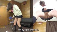 Subtitles Japanese schoolgirl pee desperation