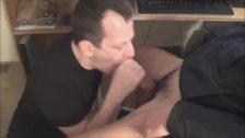 Sucking Hot Big Cock Slowly