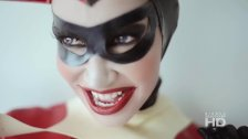 Bianca Beauchamp - Sexy Harley Quinn Cosplay