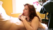 Sensuous Blowjob Experience From Redhead MILF