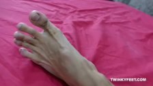Asian Boy Arjo Foot Fetish Jerk Off