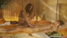Enduring Golden Massage MILF Blonde