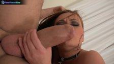 Busty brunette Katja Kassin seduces her man for a quickie