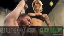 Honey FoXXX accommodates her B&B guest Mike Panic