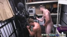 Gay guy sucking a passed out straight guys