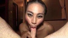 Busty Asian Ladyboy Pov Rimming