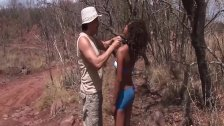 african babe loves extreme sex