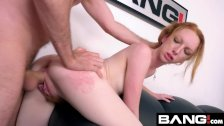 BANG Casting: Redhead Amateur Katy Kiss Has A Big Ass
