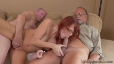 Teen gets abused Frankie And The Gang Take