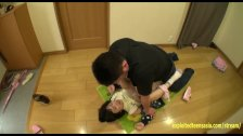 Hoshino Yuzuki Ambushed At Home Fucked On Hallway Floor Perfect Shaved Puss