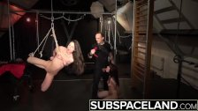 Two hogtied slaves ready to get fucked Luna Rival Arwen Gold