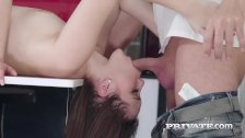 Private com - Teen Zoe Doll and Francys Belle Have Trio