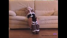 Fetish-Concept com - Home bondage and ball gag -