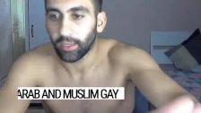 Turkish Gay Hunk Playing hard with his cock