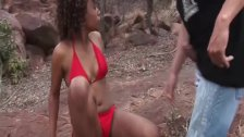 skinny african babe fucked