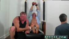 Cute gay feet slave and young boys feet
